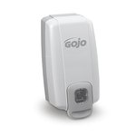 GOJO NXT Space Saver White & Gray 1000 mL Soap Dispenser