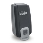 GOJO NXT Space Saver Black & Gray 1000 mL Soap Dispenser
