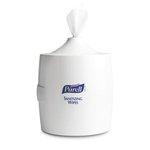 Purell White Sanitizing Wipes Wall Dispenser