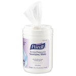 Purell Alcohol Formulation Sanitizing Wipes 6X7