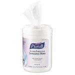 Purell Alcohol Formulation Sanitizing Wipes 6X7