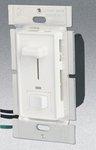 3-Way 1000W Slide Dimmer w/ LED & Rocker Switch, White