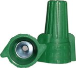 Green Winged Grounding Wire Connectors, Easy-Twist 14-10 AWG