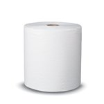 Signature White Nonperforated 2-Ply Paper Towel Roll 350 Sheets