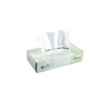 Envision White 2-Ply Premium Facial Tissues Flat Box