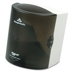 SofPull Smoke Gray Center-Pull Hand Towel Dispenser