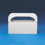 Gards White Plastic Toilet Seat Cover Dispenser