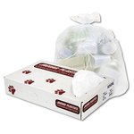 33 Gallon Clear High Density Plastic Can Liner