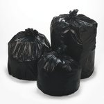 Black 1.5 mil Plastic Low-Density Repro 55-56 Gal Can Liner