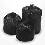 Black 2.0 mil Plastic Low-Density Repro 55-56 Gal Can Liner