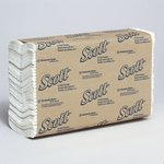 SCOTT White 1-Ply C-Fold Paper Towels