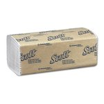SCOTT White Single-Fold Paper Towels