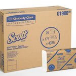 SCOTT SCOTTFOLD White 1-Ply M Paper Towels 9.4X12.4