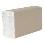 SCOTT GreenSeal Certified White 1-Ply C-Fold Paper Towels