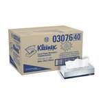 KLEENEX White 2-Ply Facial Tissue in Flat Box, Convenience Case
