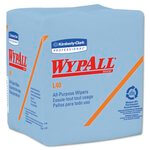 WypAll L40 Blue quarter-fold Wipers