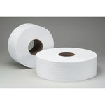 SCOTT White 1-Ply JRT Jr Bath Tissue Roll