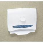 WINDOWS Pearl White Toilet Seat Cover Dispenser