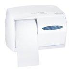 WINDOWS White Double Roll Coreless Tissue Dispenser