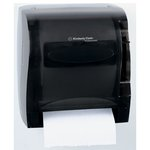 IN-SIGHT LEV-R-MATIC Smoke Gray Roll Towel Dispenser