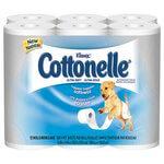 KLEENEX COTTONELLE 1-Ply Ultra Soft Bath Tissue