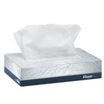 KLEENEX White Jr Facial Tissues in Flat Box