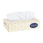 SUPRASS White 2-Ply Facial Tissue in Flat Box 125 ct