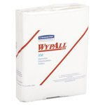 WypAll X50 White quarter-fold Wipers in Polypack