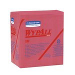 WypAll X80 Red quarter-fold Towels