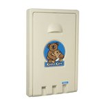 Koala Bear Kare Cream Vertical Baby Changing Station
