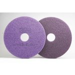 Scotch-Brite Purple Diamond 13 in. Round Floor Pads