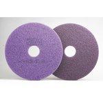 Scotch-Brite Purple Diamond 13 in. Round Floor Pads