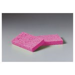 Pink Small Cellulose Sponge 3.6X6.5X0.9