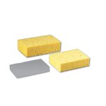 Beige Medium Cellulose Sponge 3.66 x 6.08 x 1.55