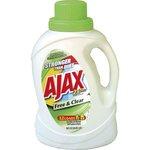 AJAX 2X Free & Clear Liquid Laundry Detergent 50 oz