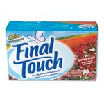 Final Touch Fresh Scent Fabric Softener Sheets