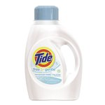 Tide Unscented Free 2X Ultra Liquid Detergent 50 oz.