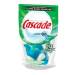 Cascade 2-in-1 ActionPacs Automatic Dishwasher Detergent 13.4 oz.