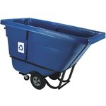 Blue Bulk Recycling Tilt Truck