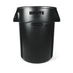 Brute Yellow 44 Gal Utility Container w/ Venting Channels