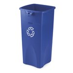 Untouchable Blue 23 Gal Recycling Container