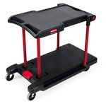 Black 400 lb Capacity Convertible Utility Cart