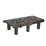 Black 2000 lb Capacity Dunnage Rack 24X48