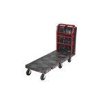 Black 2000 lb Capacity Convertible Platorm Truck