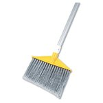 Polypropylene Bristles Angled Broom w/ Metal Handle
