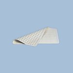 Safti-Grip White Vinyl Bath Mat 14X22-1/2