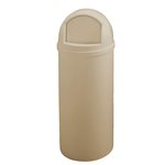 Marshal Beige Classic 15 Gal Container w/ Hinged Door
