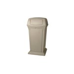 Ranger Beige 65 Gal Container w/ Two Doors