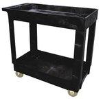 Black 300 lb Capacity Service/Utility Carts 24X40