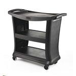 Black 300 lb Executive Service Carts